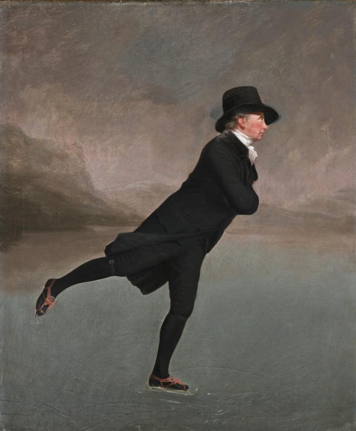 The skating Minister, by Henry Raeburn