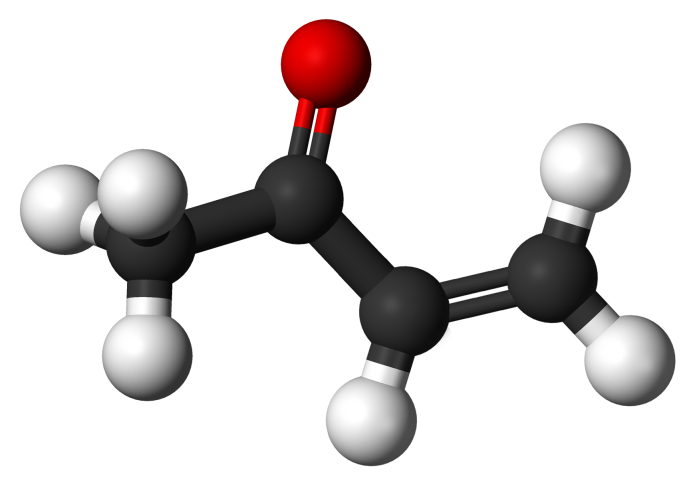 Methyl-vinyl-ketone-3D-balls