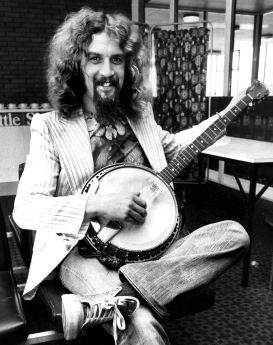 Billy Connolly pictured in 1977