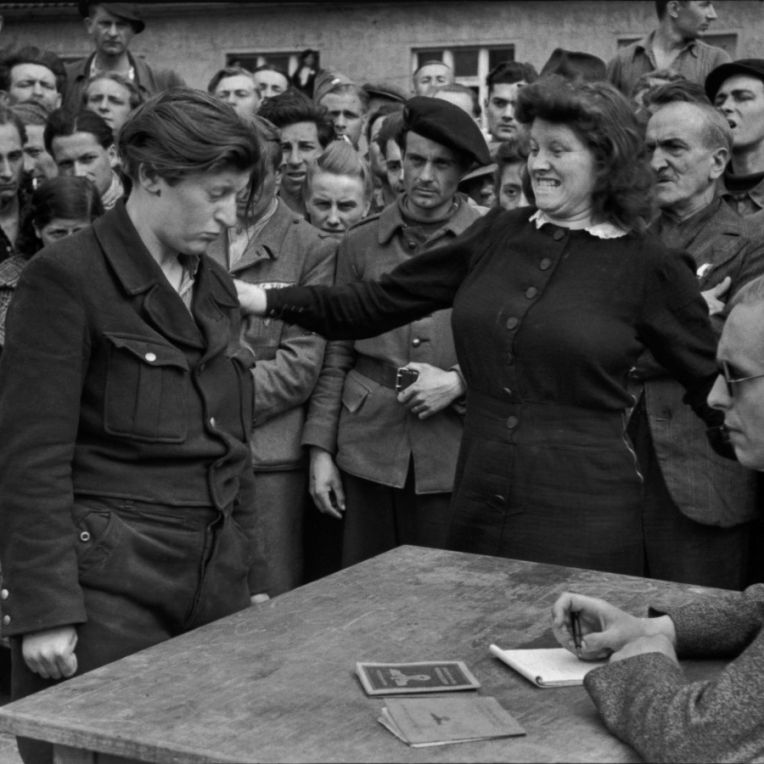 Gestapo Informer, dessau, germany, 1945