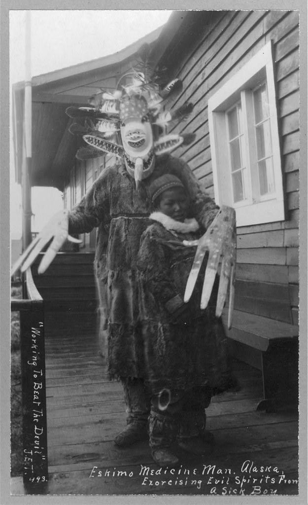 eskimo-medicine-man-and-sick-boy