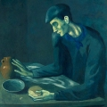 547 × 550Images may be subject to copyright Pablo Picasso – La comida del ciego,1903