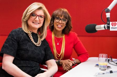 arianna and gayle king