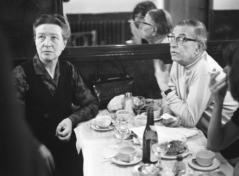 sartre and de beauviour