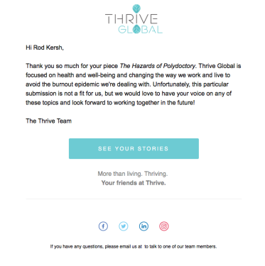 thrive screen shot