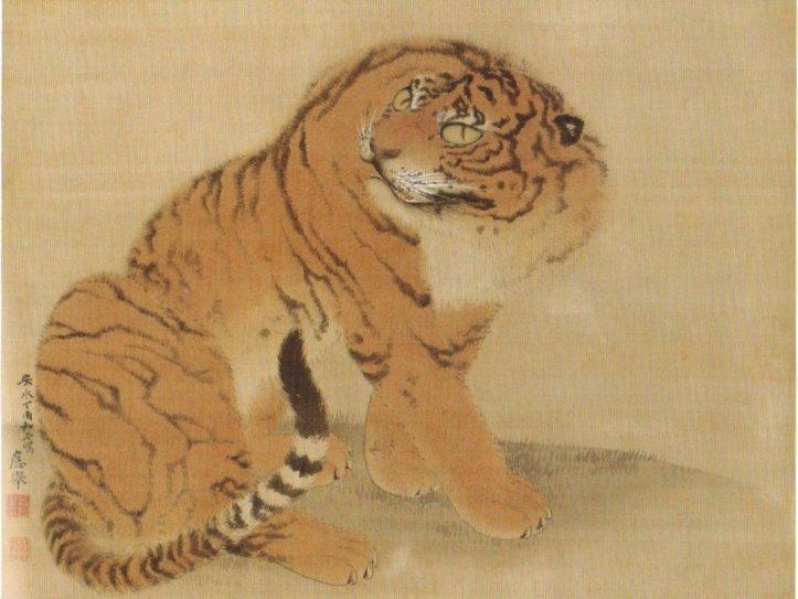 'Sitting_Tiger'_by_Maruyama_Okyo,_1777,_Minneapolis_Institute_of_Art