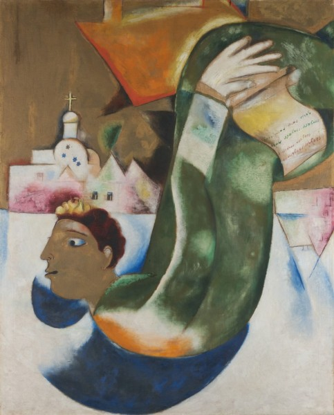 the holy coachman 1911 chagall