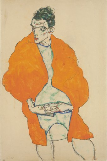 egon_schiele_standing_male_figure_self-portrait_1914