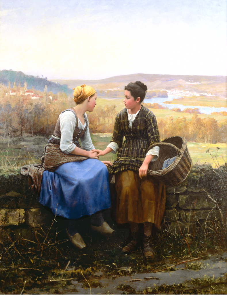 Le-Premier-Chagrin-The-First-Grief-Daniel-Ridgway-Knight-1892-Oil-on-Canvas-Brigham-Young-University-789x1024.png