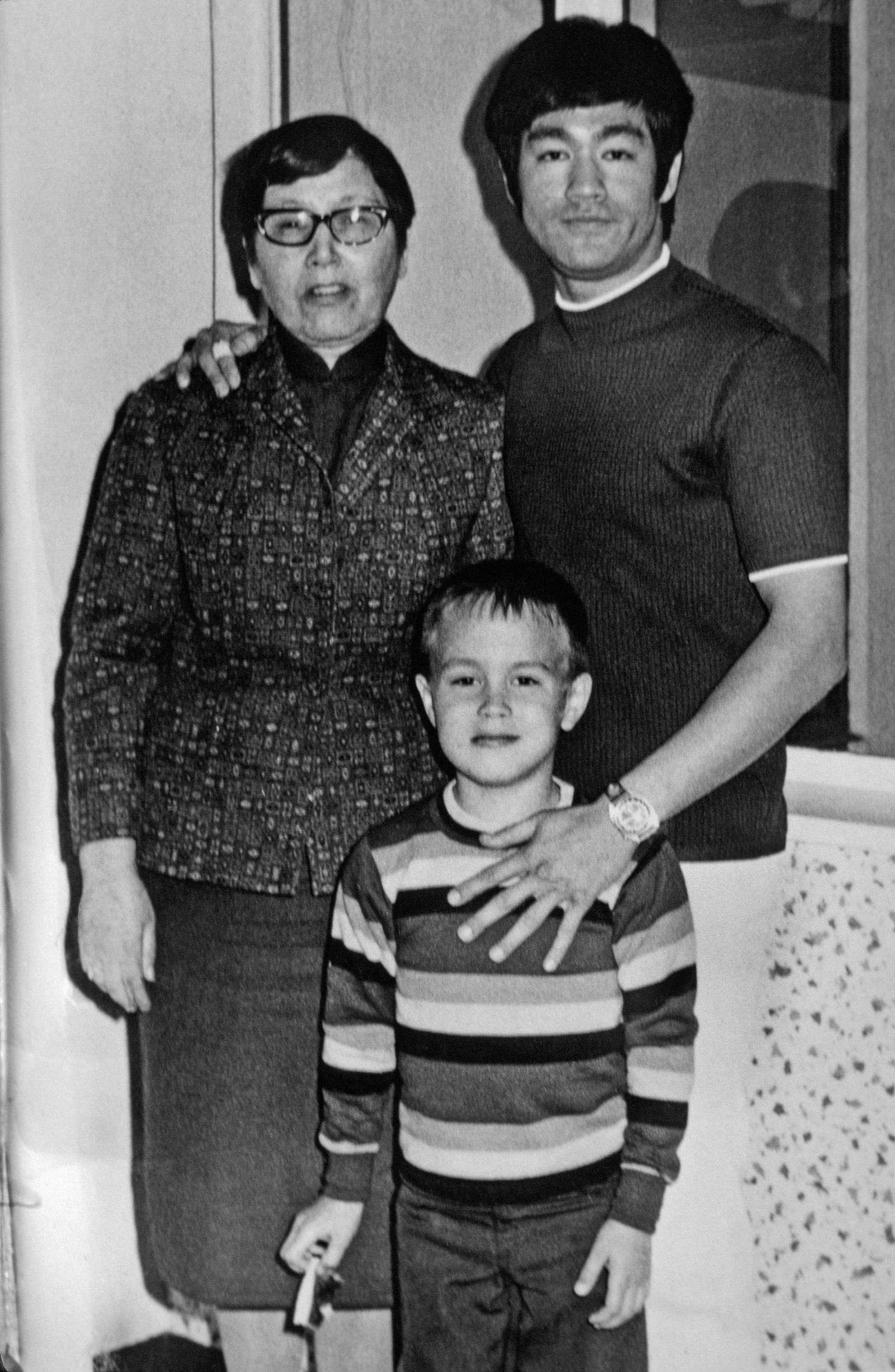 bruce and family